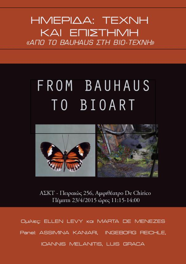 From Bauhaus to Bioart